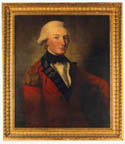 Portrait of Captain Donald Campbell painted by David Martin, Click for larger view