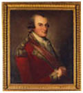 Portrait of Colonel Donald Campbell painted by David Martin, Click for larger view