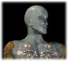 Bust of Pict Man
