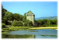 Saddell Castle, Kintyre, Scotland. Built 1508-1512.