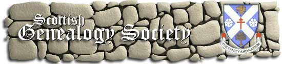 Scottish Genealogical Society banner