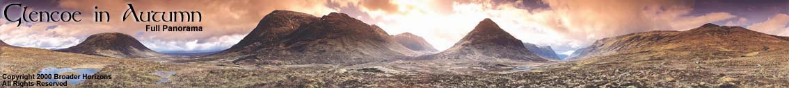 Glencoe in Autumn, Broader Horizons Art Prints