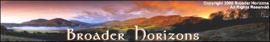 Strathearn Panorama, Broader Horizons Art Prints